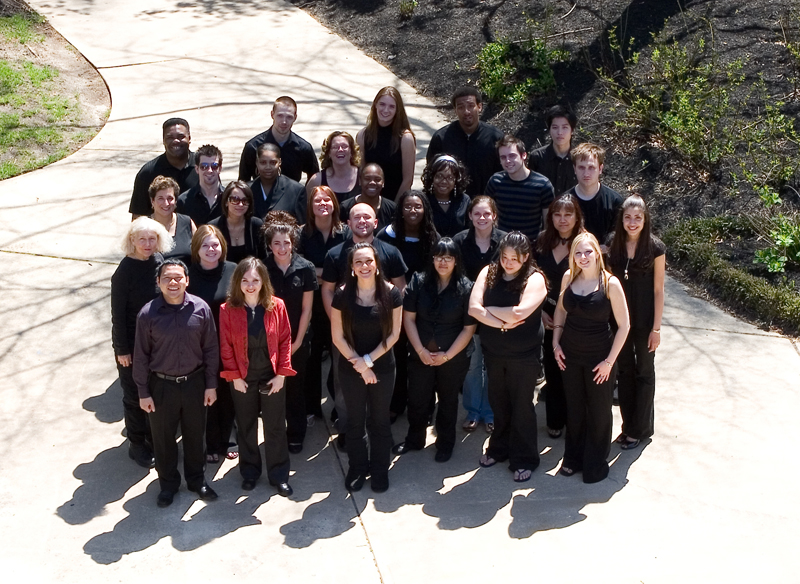 outside group picture of choir