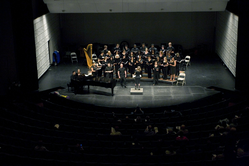 Choir in Gordon Theater