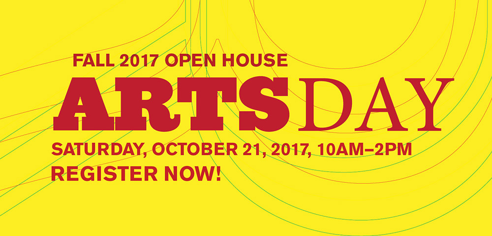 Fall 2017 Open House Arts Day