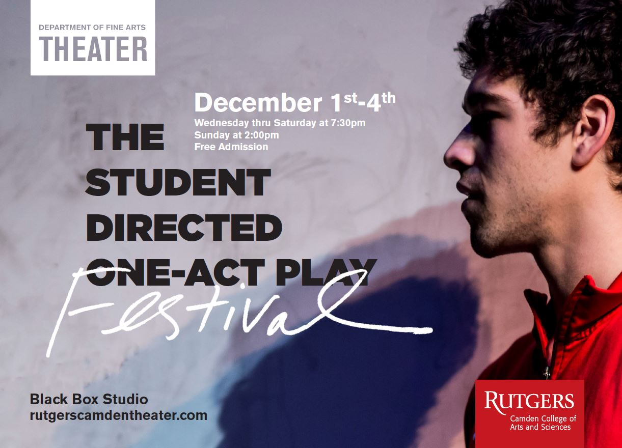 "This Weekend Only! The Student Directed One-Act Play Festival – ""The Absurdist Abyss"" – December 1st-4th"