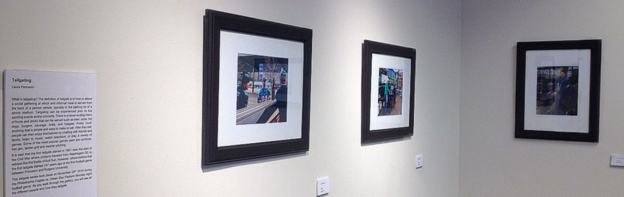 LAURA PENNESTRI's work hung in gallery