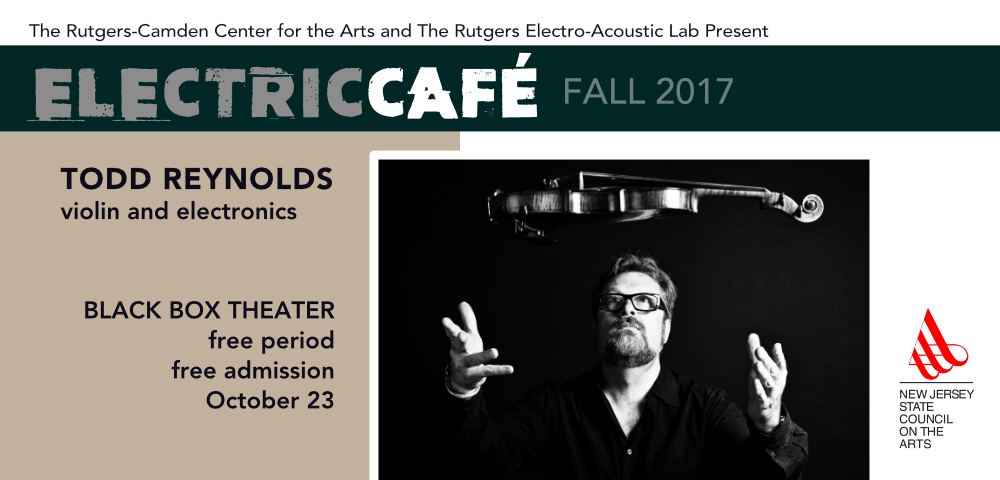 Electronic Cafe: October 23rd with Tom Reynolds