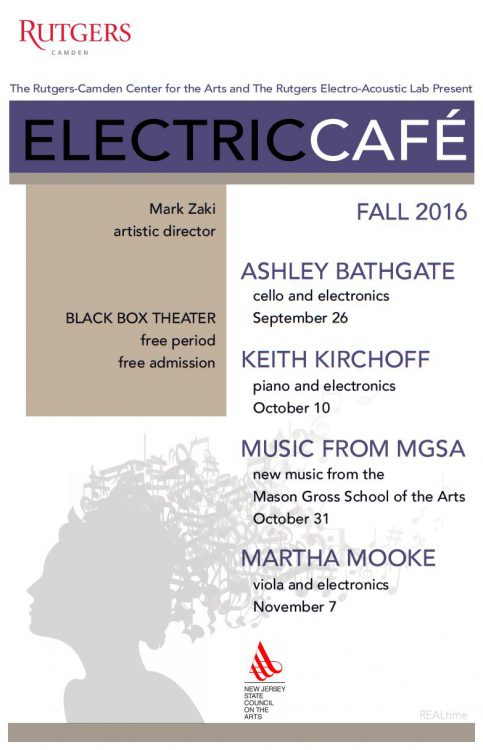 Electric Café – New Music from Mason Gross School of the Arts – October 31st